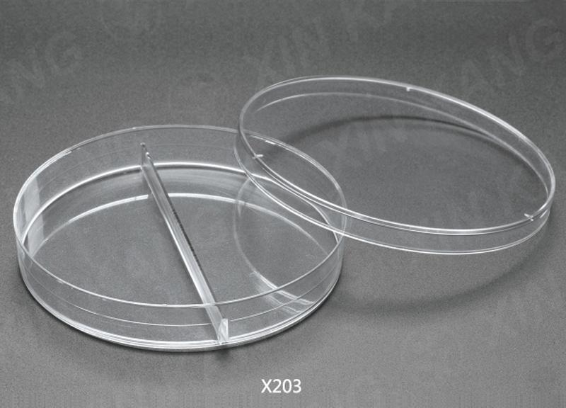 Φ90 两格 一次性培养皿
